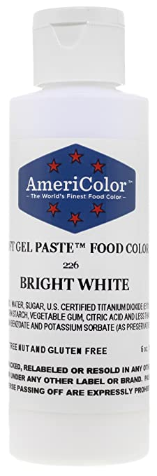 Amazon.com: Americolor Soft Gel Paste Food Color, 6-Ounce, Bright ...