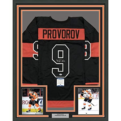 Image Unavailable. Image not available for. Color  Ivan Provorov  Autographed Jersey ... 64ab60539