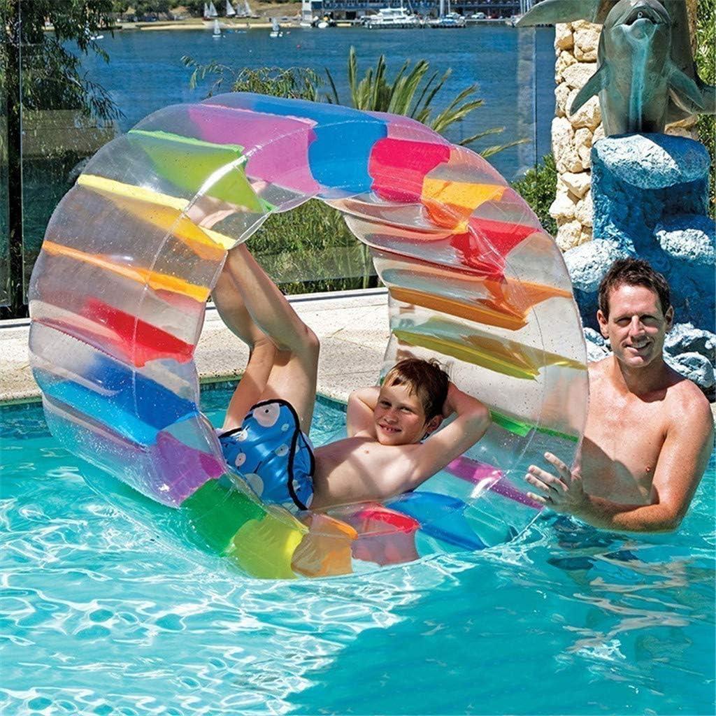 Giant Inflatable Land Wheel Jumbo Party Wheel Kids Indoor Outdoor Pool Play Cute Inflatable Swim Tube Raft Summer Pool Toys