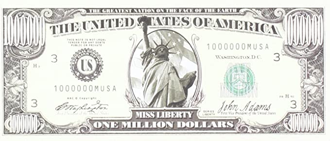 Looks real ~  wholesale 100 BILLION Dollar Novelty Money Bills