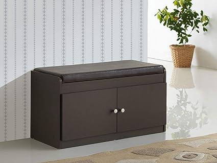 Amazoncom Baxton Studio Margaret Modern Contemporary Wood 2 Door