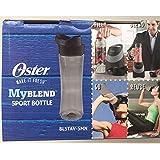 Oster MyBlend Sport Bottle BLSTAV-SMN Gray BPA Free 20 Ounces