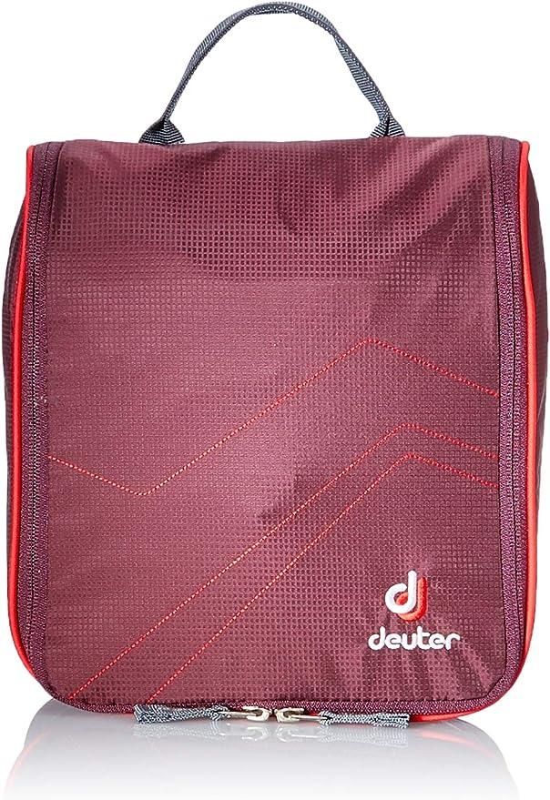 Deuter Unisex WashTasche 2 Schwarz Sport Leicht Taschen