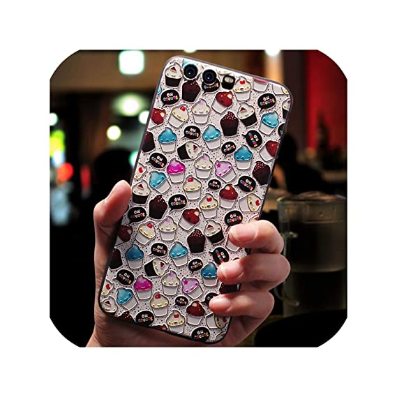 Amazon.com: Phone Case Emboss Printed for Huawei Mate 10 20 ...