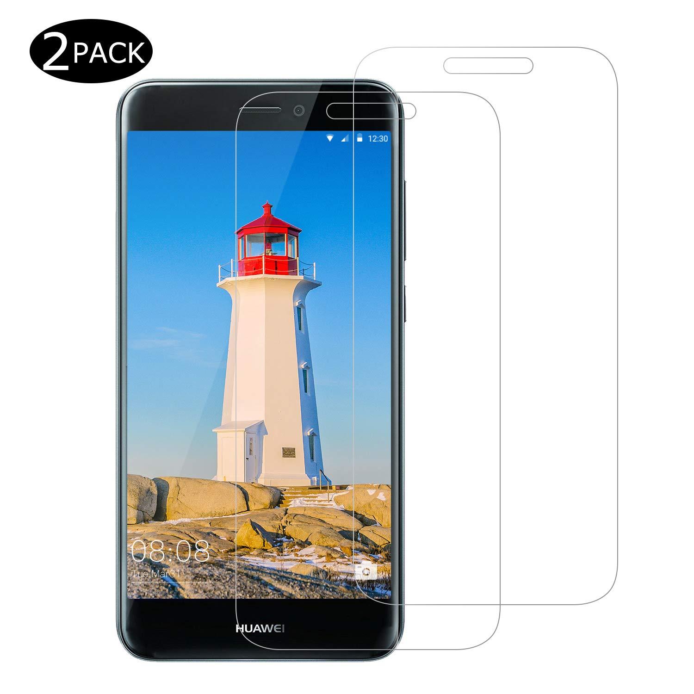 CNXUS [2-Pack Cristal Templado Compatible con Huawei p8 Lite 2017, Protector de Pantalla Huawei p8 Lite 2017 [9H Dureza] [Fácil de Instalar] [Resistente a los arañazos][Anti-Aceite]: Amazon.es: Electrónica