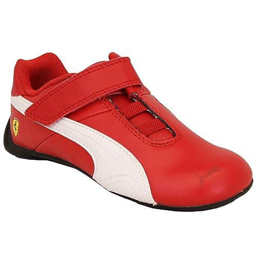 d669caa5e41 Puma Ferrari - Zapatillas de Deporte para niños (Piel)