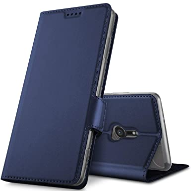 quality design ad047 fa9bf Geemai Sony Xperia XZ3 Case, Sony Xperia XZ3 Cover [Card Holder] [Magnetic  Closure] Premium Leather Flip Wallet Case Cover for Sony Xperia XZ3 ...