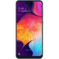 Samsung Galaxy A50 Smartphone (16.3cm (6.4 Zoll) 128GB interner Speicher, 4GB RAM, Blue) - Deutsche Version
