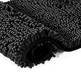 LuxUrux Bathroom Rugs Set-Extra-Soft Plush Bath mat Shower Bathroom Rug,1'' Chenille Microfiber Material, Super Absorbent.Bath Rugs