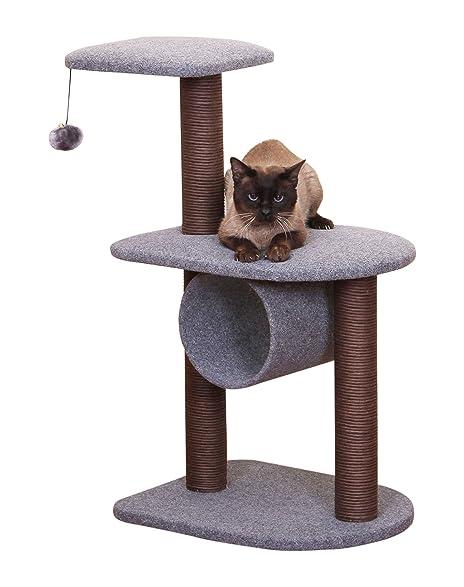 Teeny   PetPals PP5476 2016 Cat Tree, 19.5u0026quot; X 15.5u0026quot; X 32u0026quot
