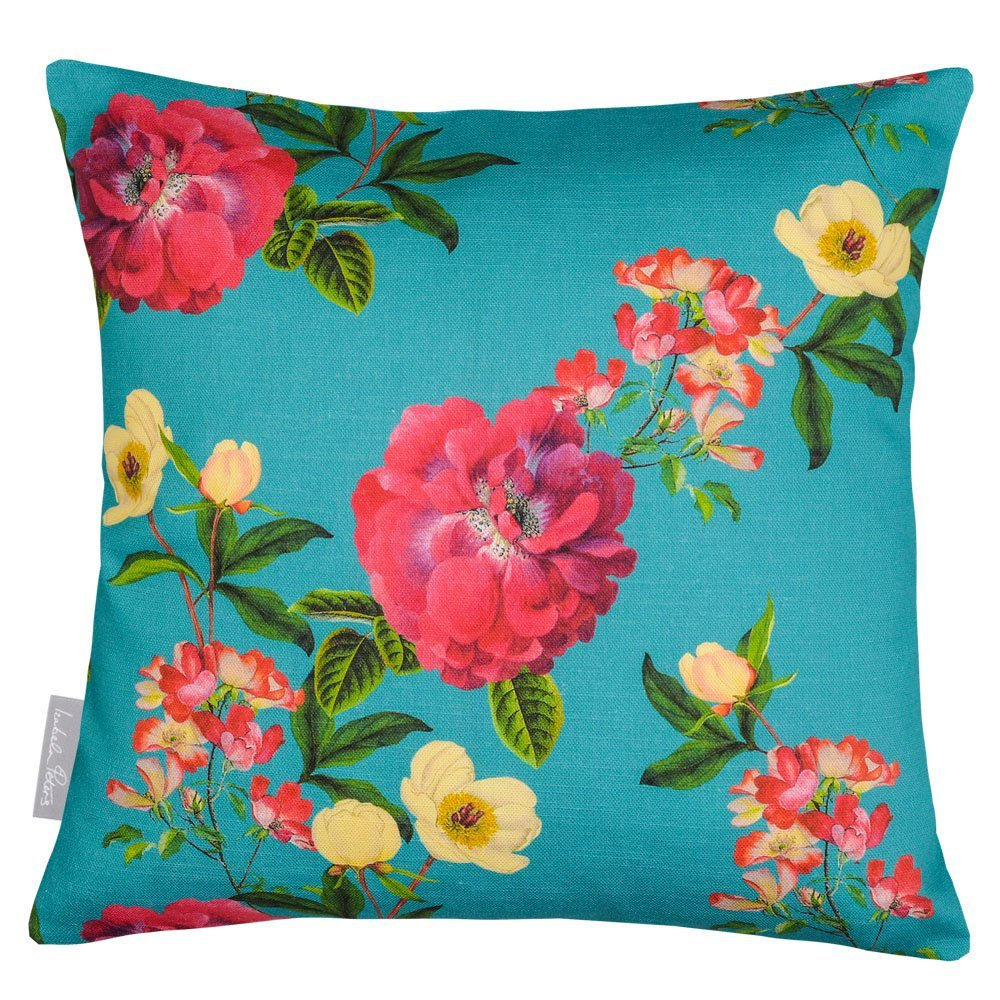 Floral Glade 40 x 40 cm Cushions Crema Impermeable De Dise/ño Jard/ín Exterior Coj/ín Set of 2 Dise/ñado Estampado /& hecho a mano en el Reino Unido Gnat Banco jard/ín Colecci/ón