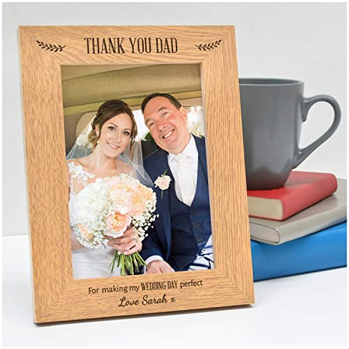 Step Dad Gifts ~ Step Dad Thank You Gift ~ Step Dad Wedding ~ Personalized Step Dad ~ Picture Frame ~ Father of the Bride ~ Step Father