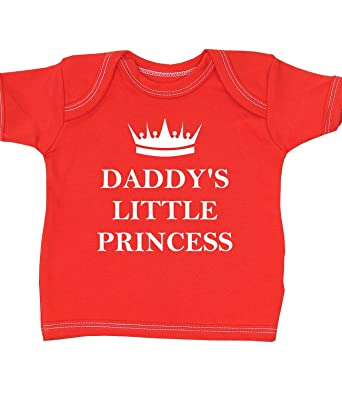 233384005 BabyPrem  Daddy s Little Princess  Baby Clothes T Shirt NB-12 mth ...