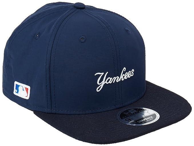 A NEW ERA Era Nylon Mix Wordmark NY Yankees Snapback Navy  Amazon.es  Ropa  y accesorios e6034a063be