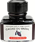 J. Herbin 30ML Fountain Pen Cacao Du Bresil Bottled Ink