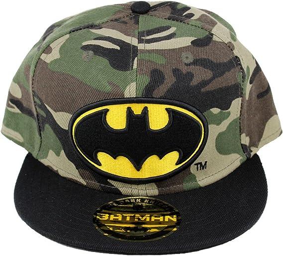 Batman – Gorra con visera plana – Camuflaje militar: Amazon.es ...