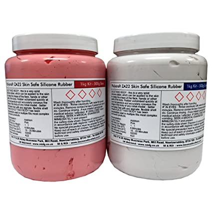 Polycraft ZA22 Thixo cuerpo oliviasphones seguro adición Cure RTV para moldes silicona - 1 kg Kit