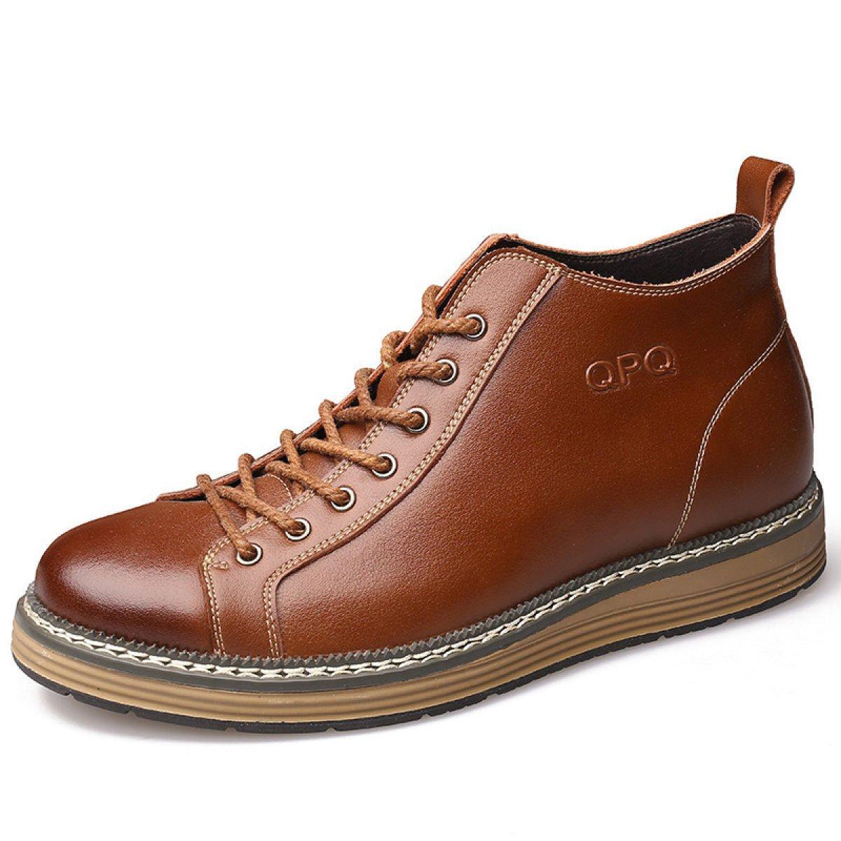 Abbigliamento Casual Affari Uomo 's Moda Alto Per Aiutare Scarpe Casual Stivali Martin Pizzi Uomini Scarpe Stivali