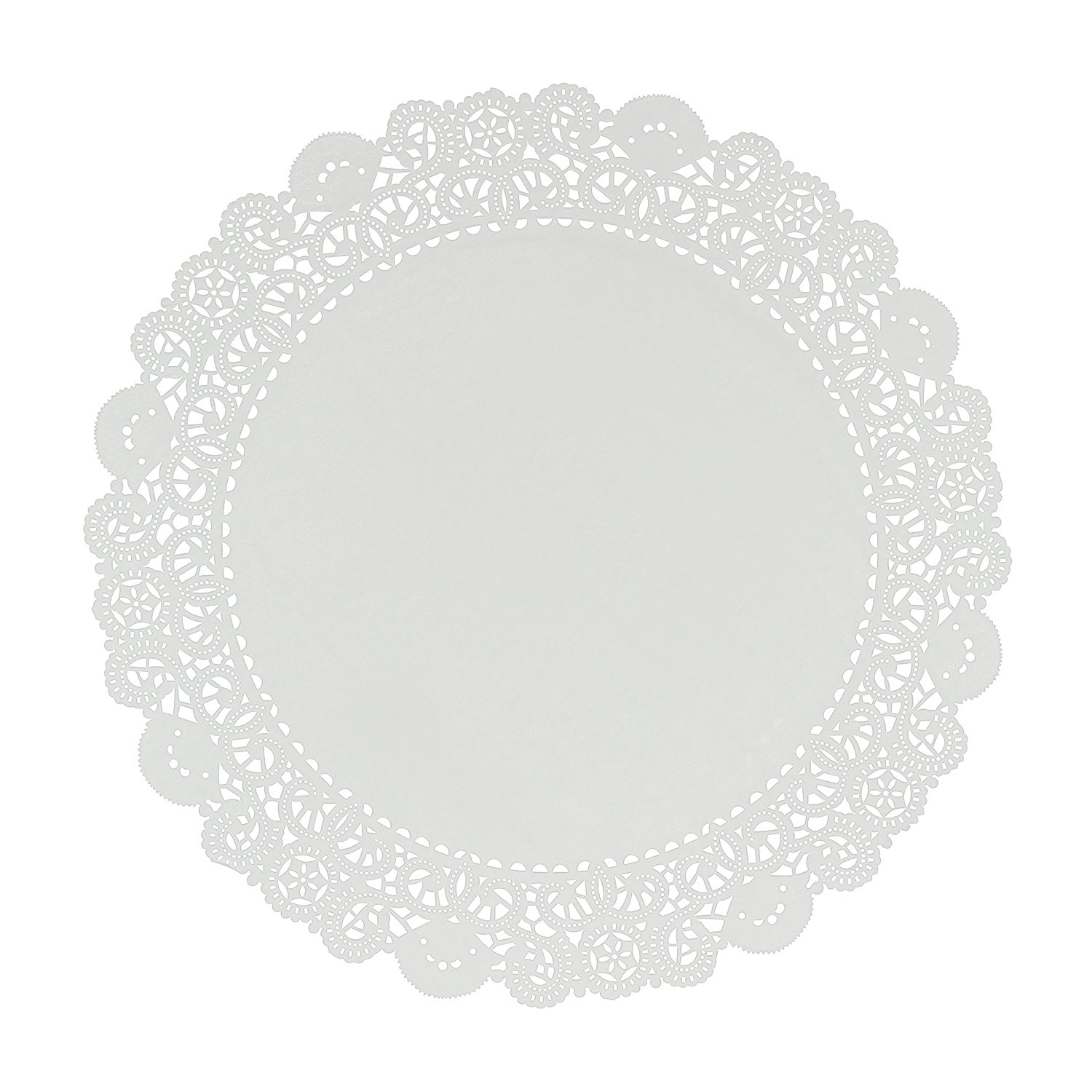 Royal 16'' Disposable Paper Lace Doilies, Package of 250