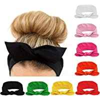 Amazon Price History for:Habibee Women Headbands Turban Headwraps Hair Band Bows Accessories for Fashion Or Sport (Solid Color 8pcs)