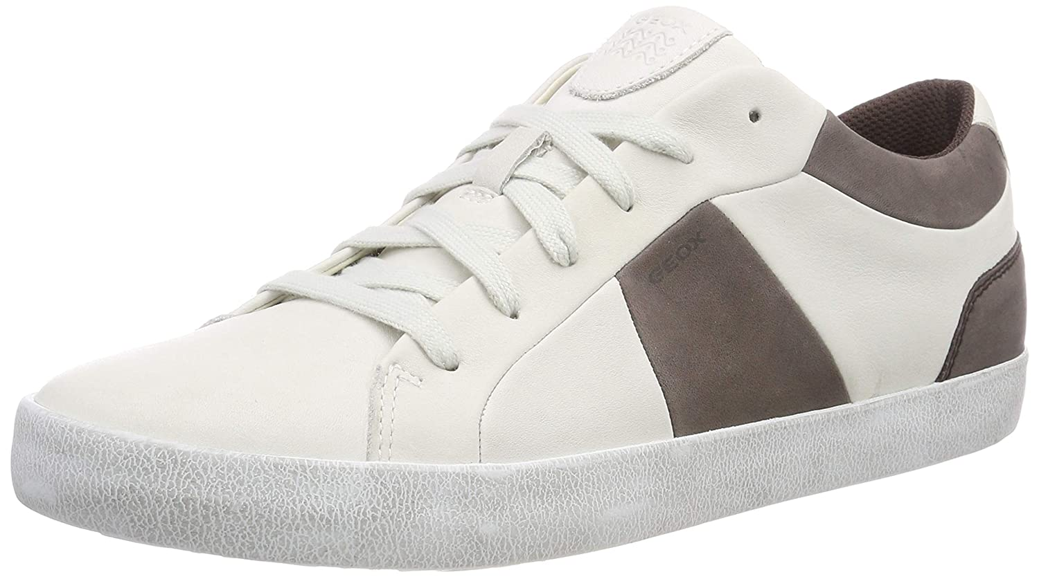 Geox Coffee B Basses Blanc 41 Homme Smart White U Sneakers C0231 Eu PSBwwq