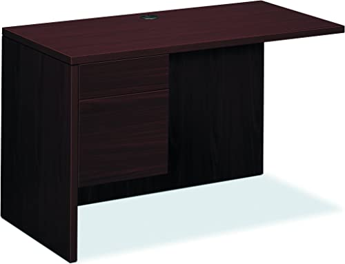 HON 10516LNN 10500 Series 48 by 24 by 29-1 2-Inch L Workstation Return, Left, Mahogany
