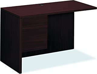 product image for HON 10516LNN 10500 Series 48 by 24 by 29-1/2-Inch L Workstation Return, Left, Mahogany
