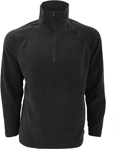 Mens Result Winter Warm Light Micron Fleece Top