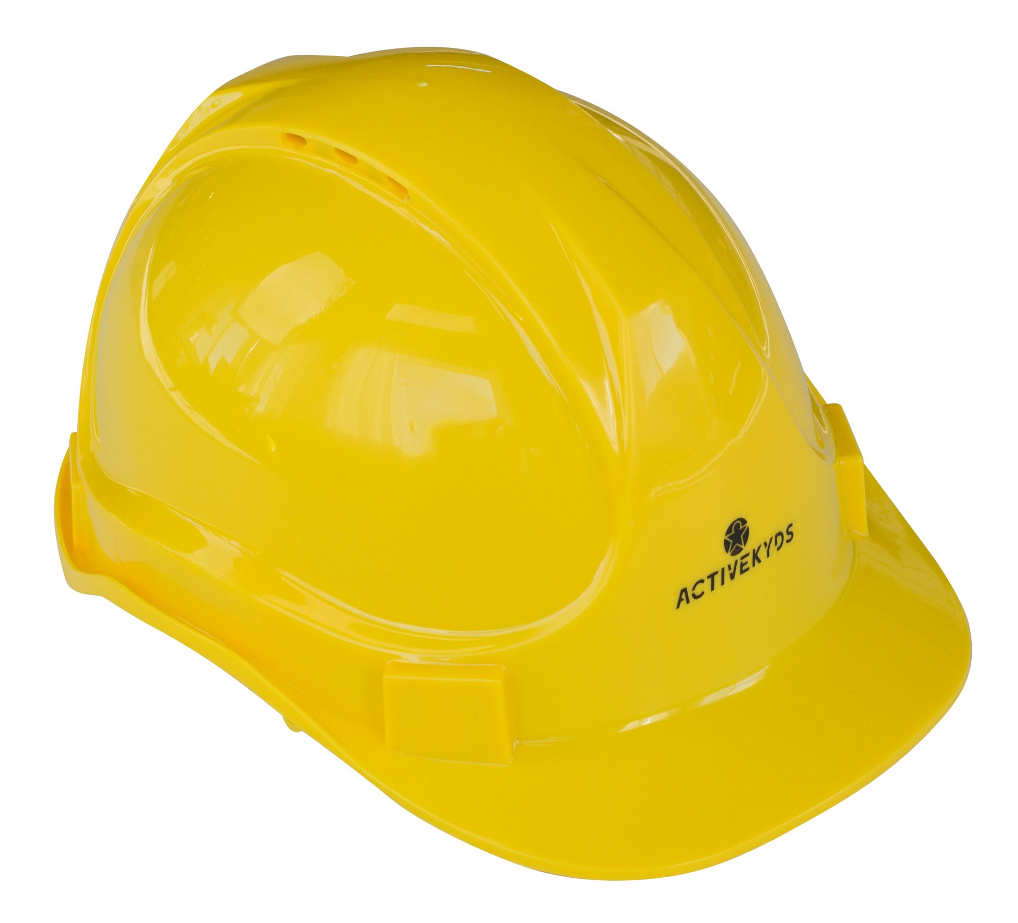 Active Kyds Adjustable Yellow Hard Hat for Kids Construction Costume (Small) by Active Kyds