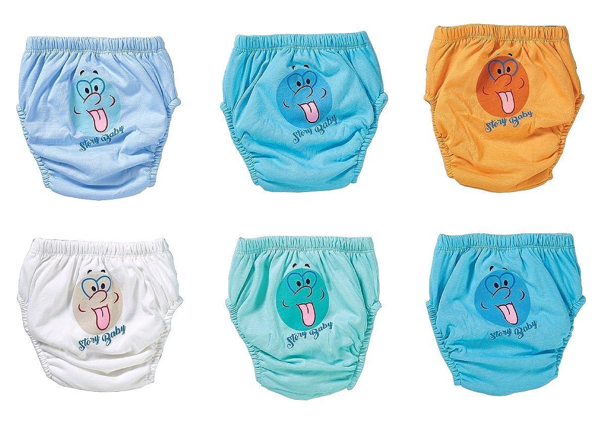 ÄTSCHIBÄTSCH 6er Pack Trainerhosen | Waschbare Trainingswindel | Lernwindel | Toilettentrainerhose | Baby Training Pants | Kinder Unterwäsche Unterhosen | Windelhose | Töpfchenhose