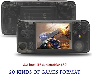 BAORUITENG Handheld Game Console, Retro Game Console 3 Inch HD Screen 5000 Classic Game Console ,Portable Video Game Great Gift for Kids