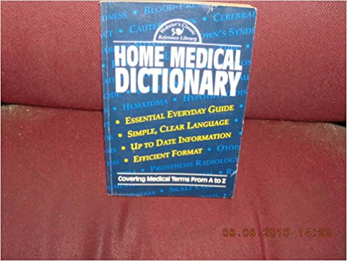 Home Medical Dictionary: Ottenheimer Publishers: Amazon com: Books