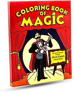 Magic Makers Pocket Size Magic Coloring Book (5 x 4 Inches)