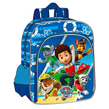 Paw Patrol Action Mochila Infantil, Color Azul, 6.44 litros: Amazon.es: Equipaje