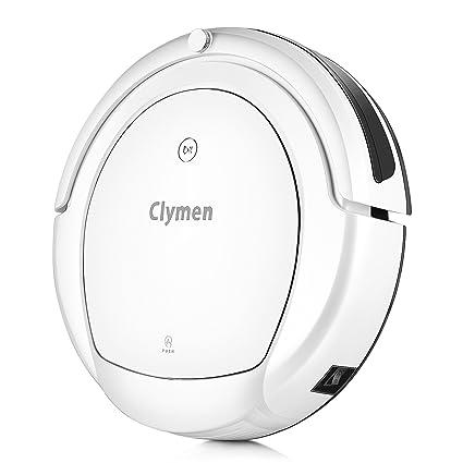 Clymen Q9 Aspirador Robot 3 En 1 con Control De Voz, Robot Aspiradora para Mascotas