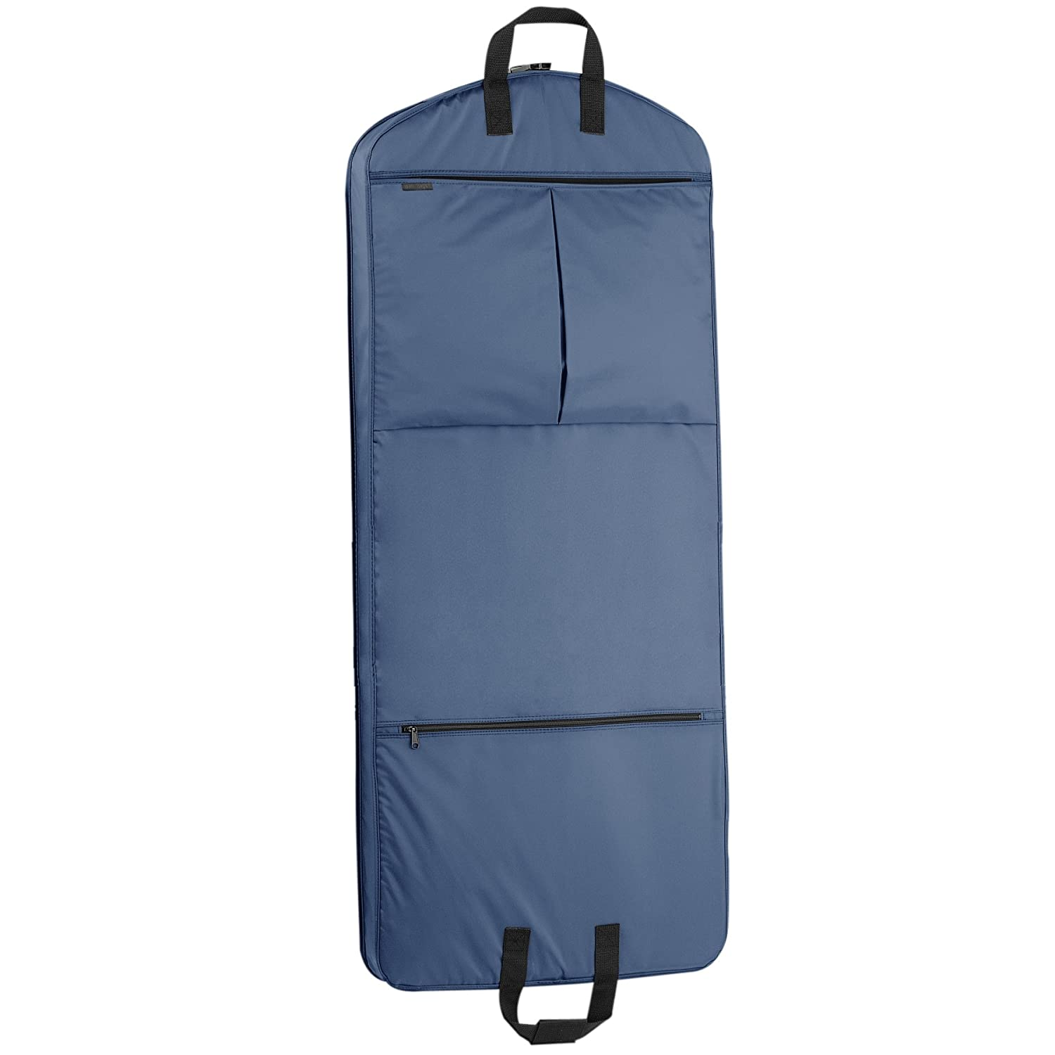 WallyBags Luggage 52 Garment Bag with Pockets Navy 855