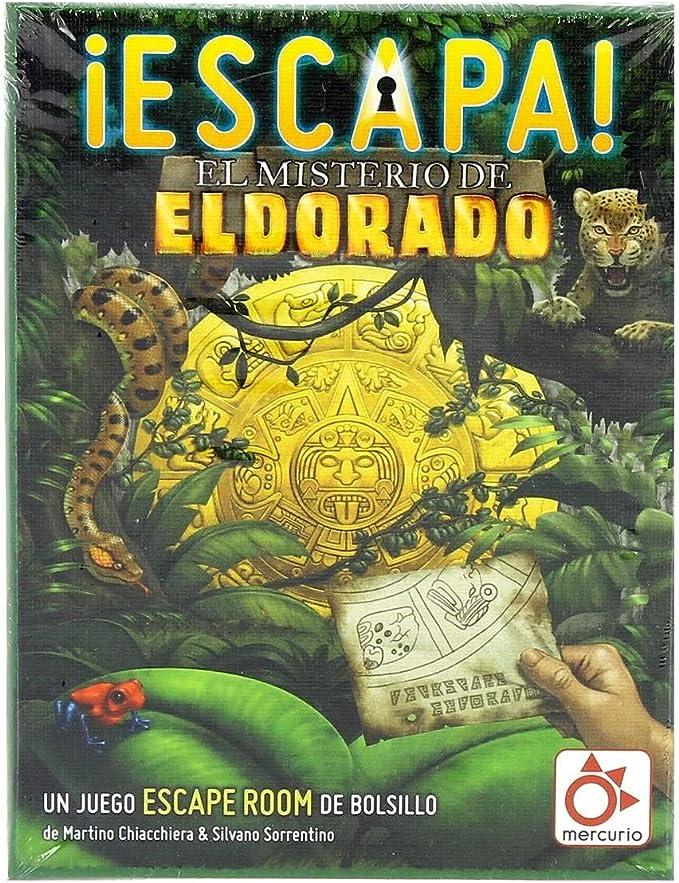 Mercurio Escapa: El Misterio de El Dorado - Juego Tipo Scape Room ...
