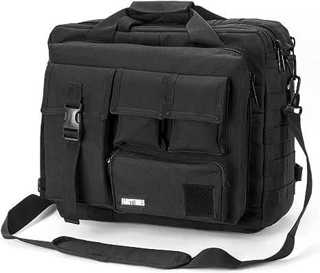 Color : Black Mens Briefcase Mens Shoulder Bag Wear-Resistant Material Multi-Function Messenger Bag Business Briefcase
