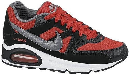 hot sale online 0df0e 396e1 Nike Air MAX Command GS, Zapatillas para Hombre, RojoNegroGrisBlanco,  38.5 EU Amazon.es Zapatos y complementos