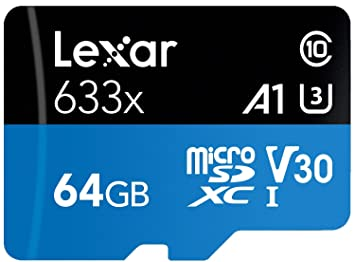 Lexar 633x - Tarjeta Micro SD de 95 MB/s y 128 g, Clase 10 ...