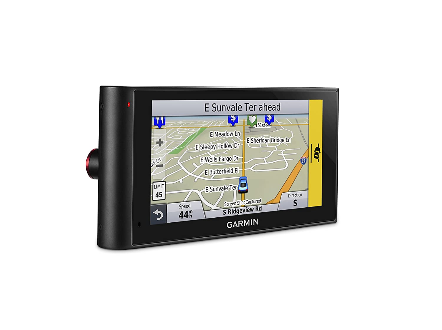 Amazon com garmin nuvicam lmthd 6 navigation with built in dash camera cell phones accessories