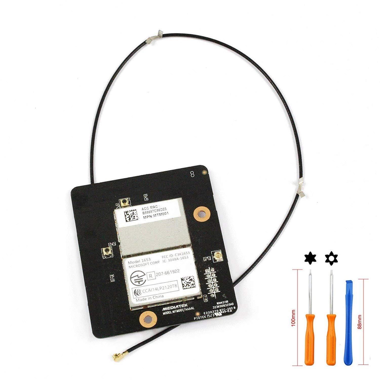 Carte Module de Carte Wi-FI sans Fil Bluetooth avec c/âble dantenne pour Xbox One tir/é avec T6/T8/Tournevis