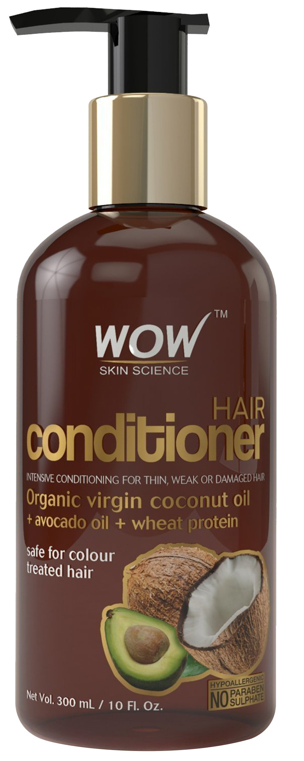 WOW Coconut No Sulphate and Parabens Hair Conditioner, 300ml product image