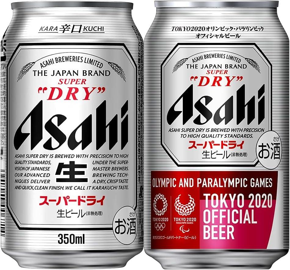 アサヒ スーパードライビール 350ml×24本