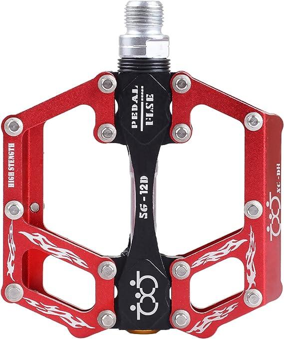 10Pc Road Bike MTB Aluminum Alloy CNC M4 Anti-Skid Nail Bicycle  Pedal Bolts Set