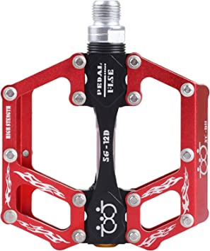 CNC Pedales de Bicicleta Aluminio Plataforma del pedal de la bici ...