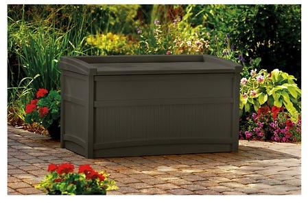 Suncast Premium Deck Box with Seat (50 Gallon) : Target