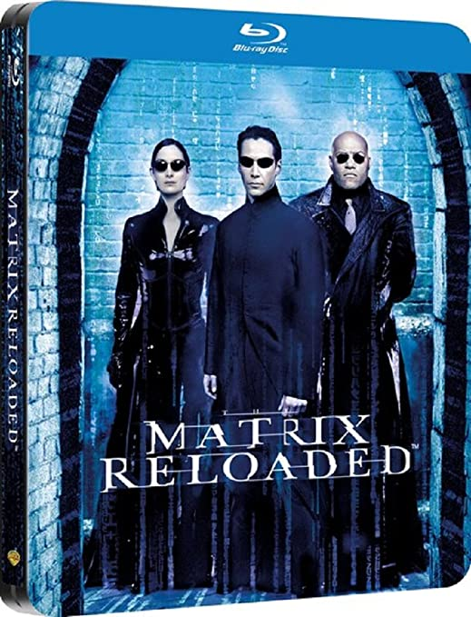 The Matrix Reloaded - Zavvi Exclusive Limited Edition Steelbook Blu-ray: Amazon.es: Cine y Series TV