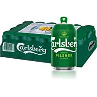 CARLSBERG Green Label Beer Can, 320ml (Pack of 24)