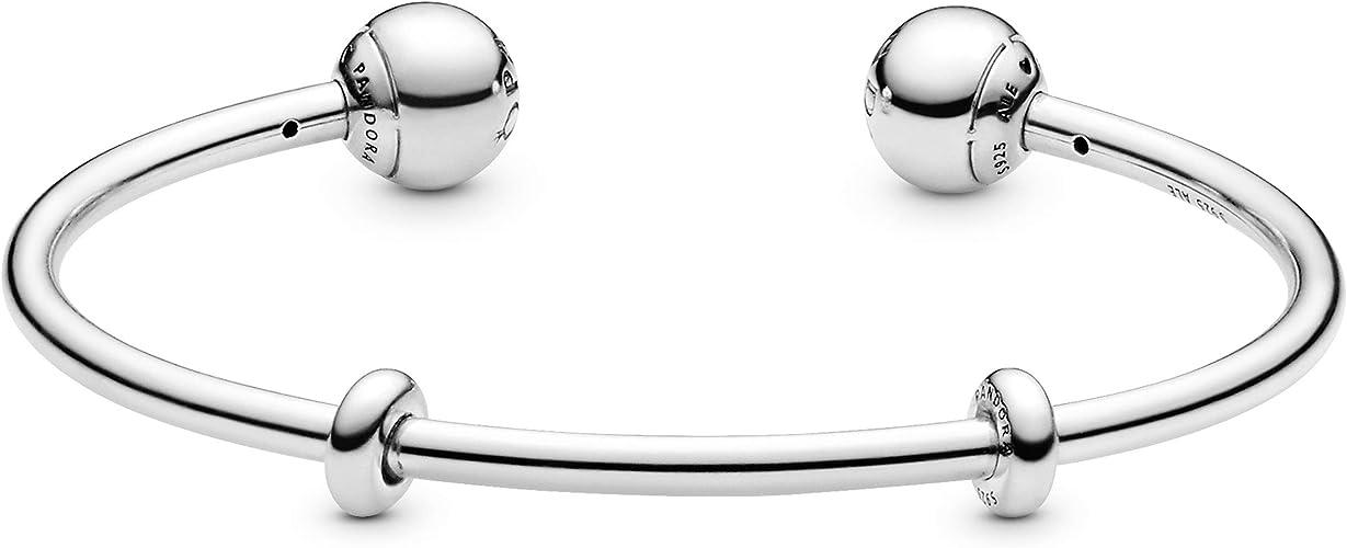 Pandora Femme Argent Bracelets charms - 5964773: Amazon.fr: Bijoux